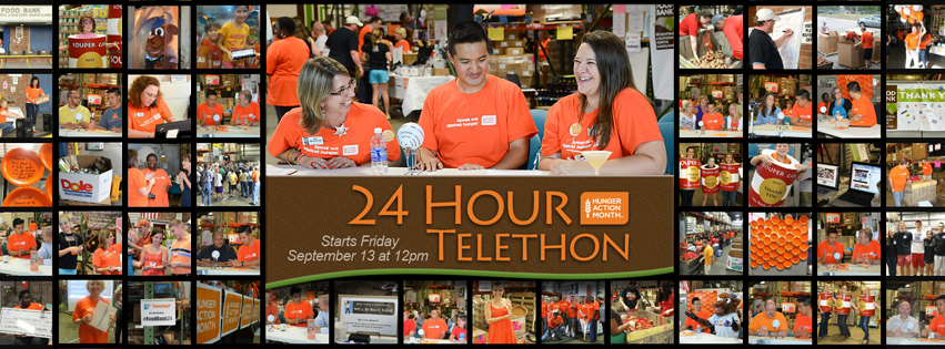 Hunger Action Month 24 Hour Telethon